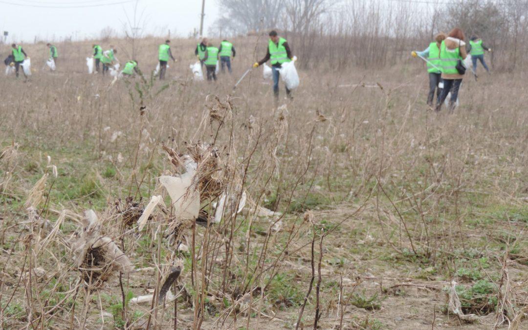 Clean Rivers-operations in den Gemeinden der Unteren Maas
