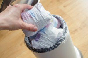 Luiers bij welk afval?