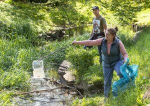World Clean-up day 2021 opruimen van beken en rivieren - Litter free rivers and streams